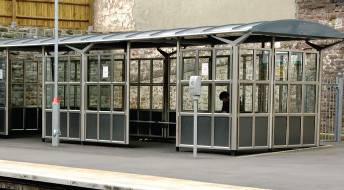 Rail Waiting Shelters