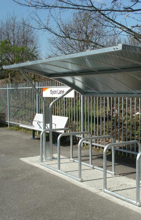 Devizes Cycle Shelter
