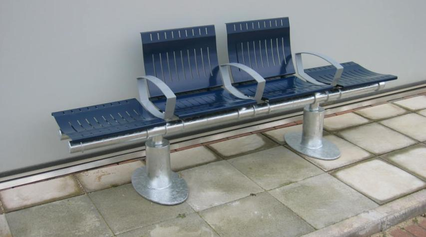 Populus Steel Benches & Street Furniture