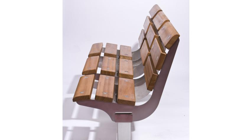 Prima Seating: Timber & Steel Benches