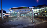 Glass & Covered Walkway