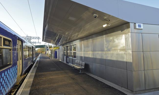 A Landmark Station Building for Cumbernauld New Town